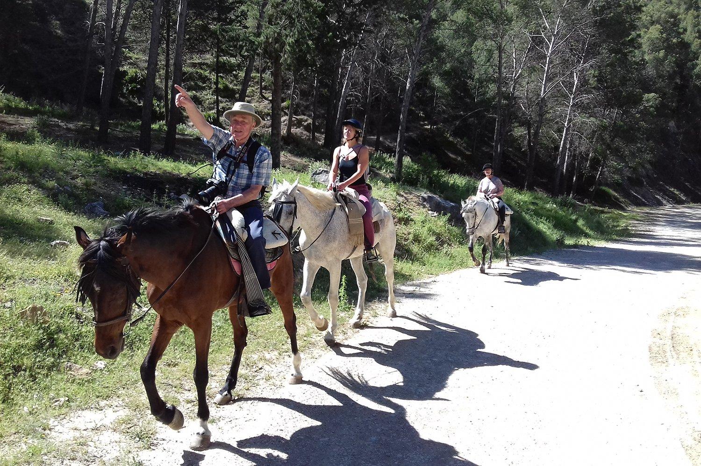 Horse Riding El Chorro - Horse Riding in El Chorro horse trekking holiday