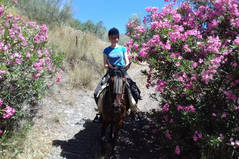 Horse Riding El Chorro - Horse Riding Holidays El Chorro Horse trekking holiday Malaga Andalucia Spain Europe