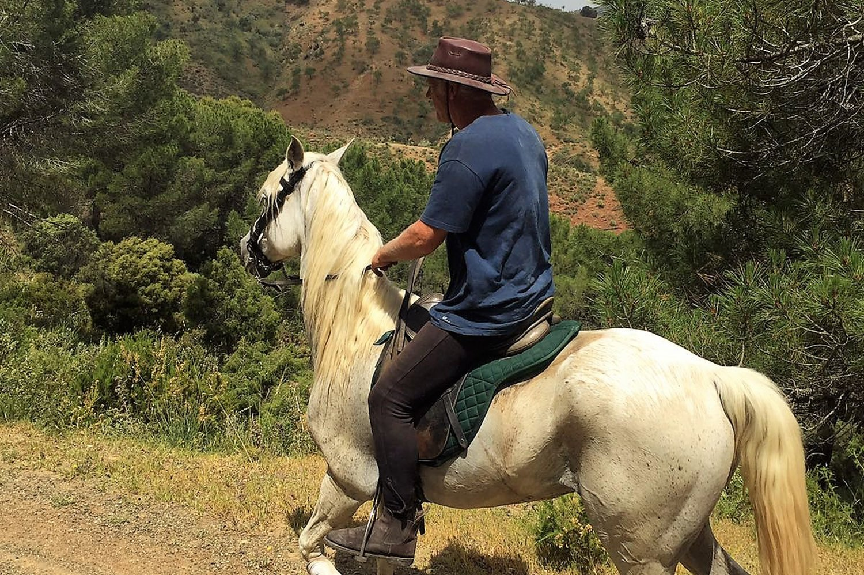Horse Riding El Chorro - Horse treking El Chorro Horse Riding Holidays Andalucia Spain Europe