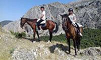 El Chorro Malaga Andalucia Spain Europe Horse Riding Holiday Riding Horse Trekking Holiday Andalucia Spain