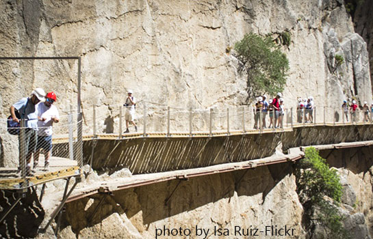 Caminito Del Rey The Kings Walk Things to do Malaga Spain local activities