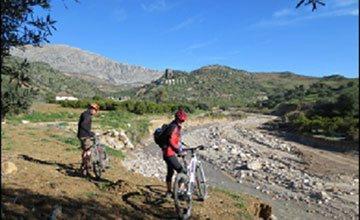 Horseback riding holidays - Horse Trekking El Chorro MTB Horse riding Malaga Andalucia Spain